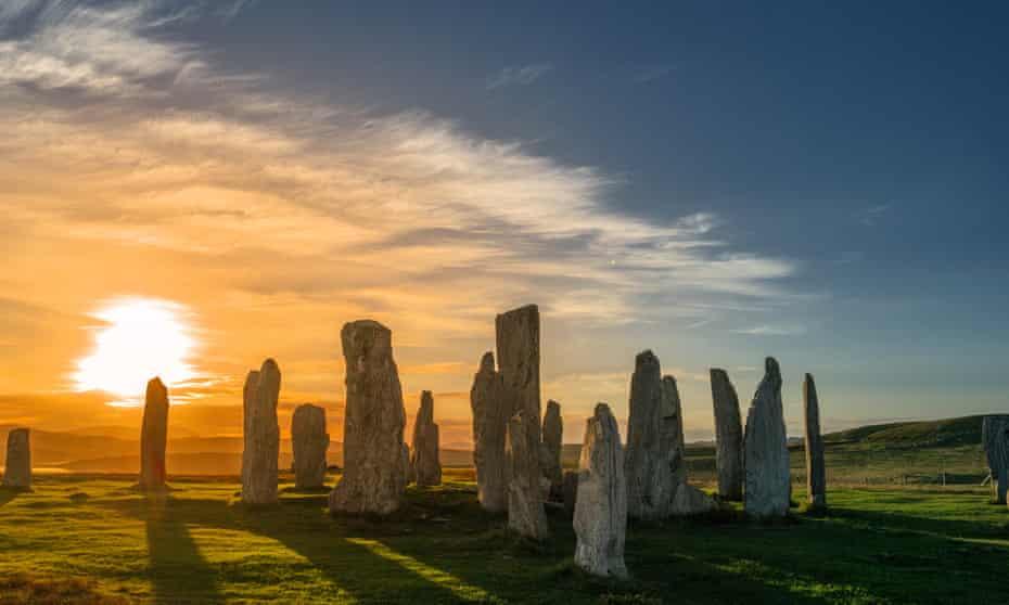 The Callanish Stones on Lewis
