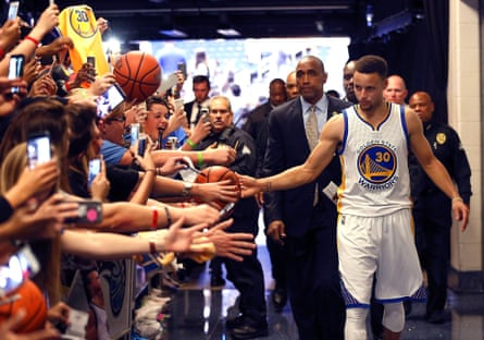 Warriors fans have been known to show up to games hours early to see Stephen Curry warm up.