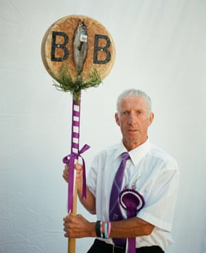 Ian Borthwick, Emblem Bearer of the Barley Banna by Jeremy Sutton-Hibbert Ian holds one of four important emblem-carrying posts of the Langholm Common Riding in the Scottish Borders region. The festival and traditions date back to 1759