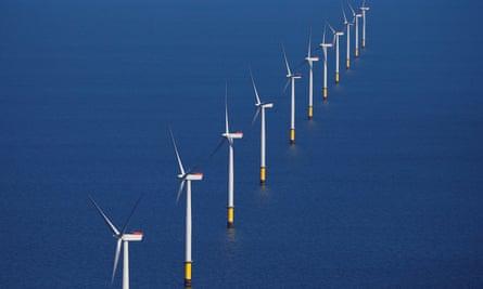 Walney Extension windfarm