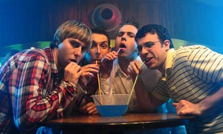 Fantastic four … Jay Cartwright, Neil Sutherland, Simon Cooper, Will McKenzie.