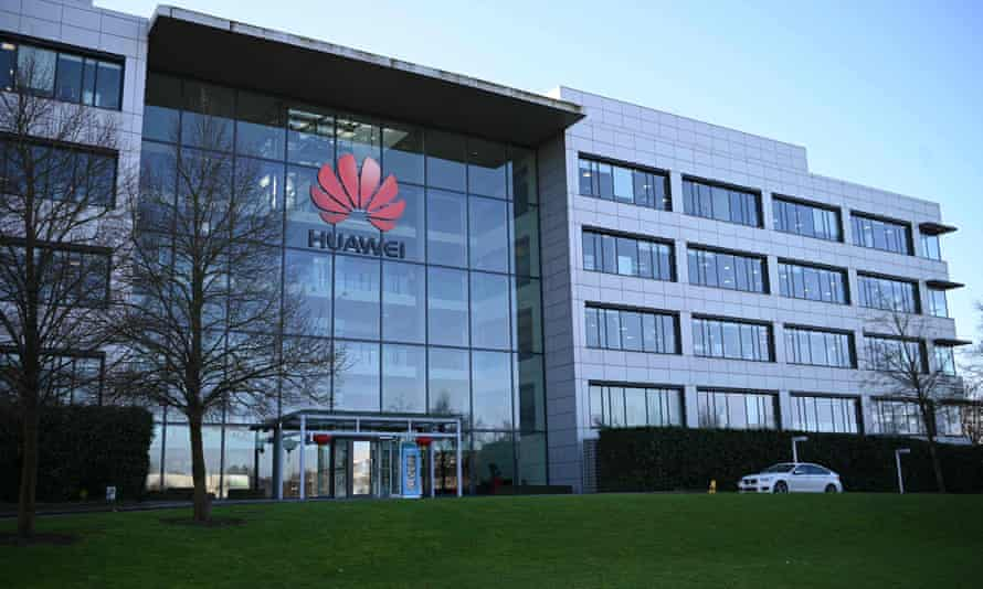 Huawei's main UK offices in Reading