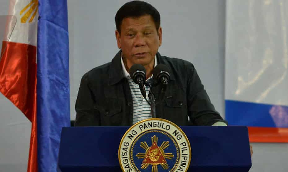 President Rodrigo Duterte has urged urged Filipinos to kill drug addicts.