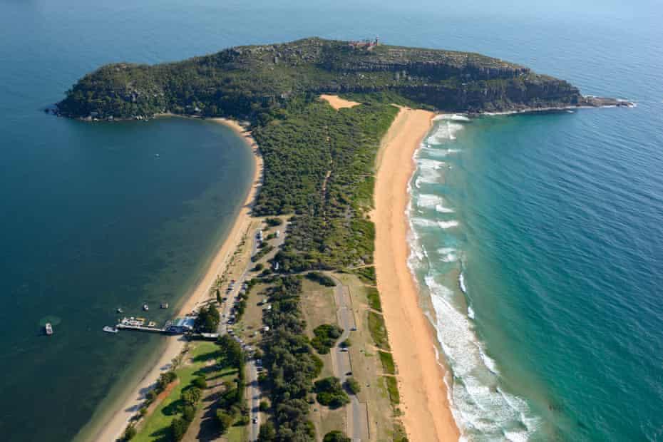 Barrenjoey Headlands, Palm Beach, Sydney, New South Wales, Australia.