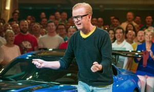 Endless, shrieking excitement … under Chris Evans, it was like watching Top Gear being presented by a tiny witch trapped inside a metal dustbin.