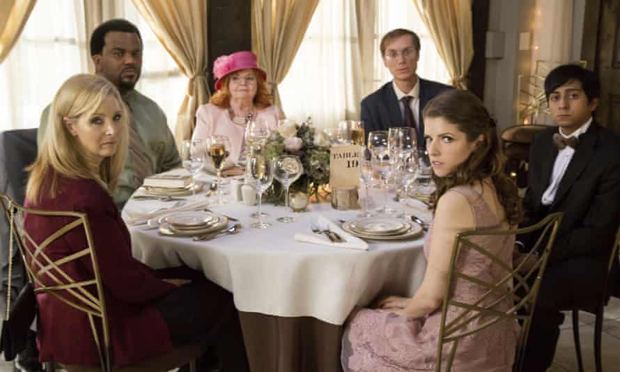 'Go with your gut reaction: find an excuse to be busy when this invitation comes' ... the cast of Table 19.