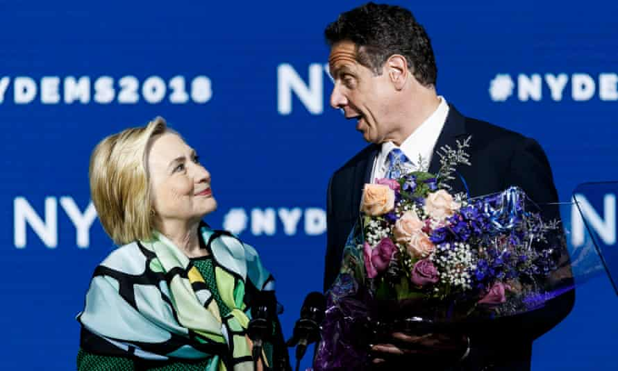 hillary clinton with andrew cuomo