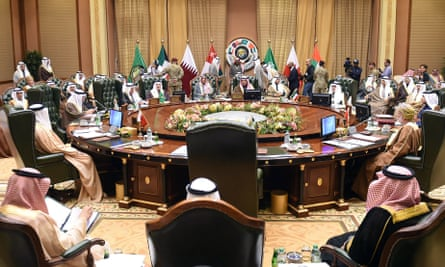 Foreign ministers of the Gulf Cooperation Council countries meet in Kuwait City.