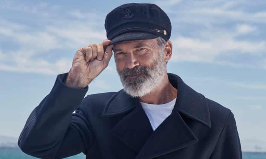Captain Birds Eye, played by Italian actor Riccardo Acerbi