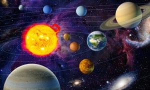 VARIOUS<br>Mandatory Credit: Photo by Ikon Images/REX Shutterstock (4023108a) Orbiting planets in solar system