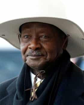 Uganda's president, Yoweri Museveni.