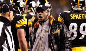 Mike Tomlin became the first black Pittsburgh head coach when he was appointed in 2007.