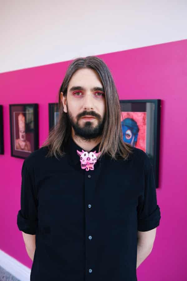 Portraitist Tom Christophersen