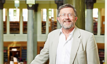 Malcolm Chase in the Brotherton library at the University of Leeds in 2014.