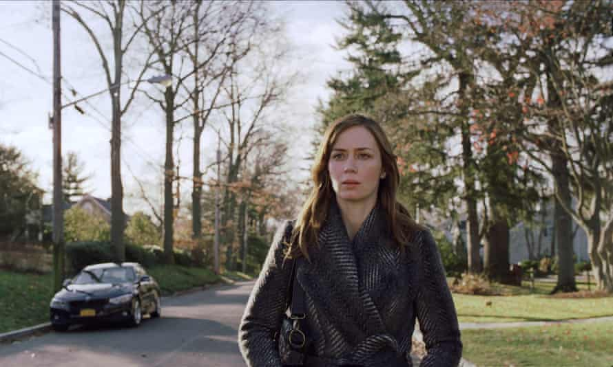 'A mesmerising presence': Emily Blunt in The Girl on the Train.