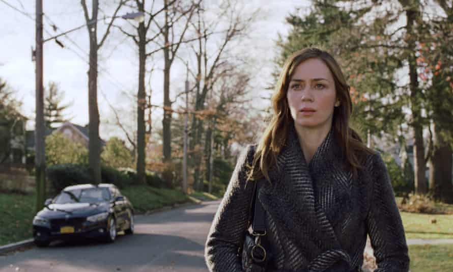 Track star … Emily Blunt in The Girl on the Train.