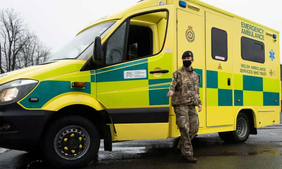 The armed forces have helped the service twice since the pandemic began.