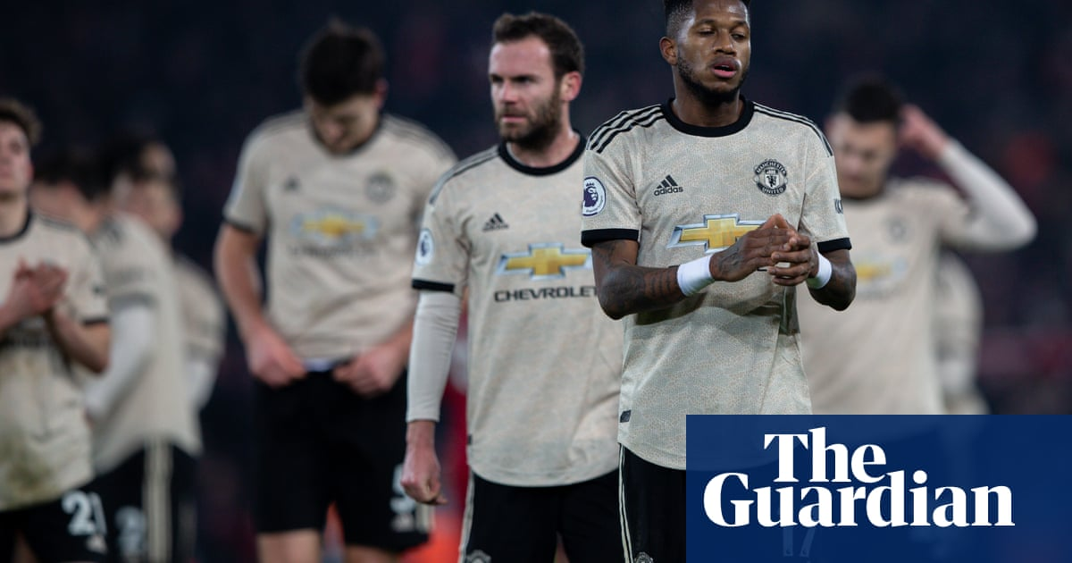 For Manchester United the gulf to Liverpool is cause for major concern | Jonathan Wilson