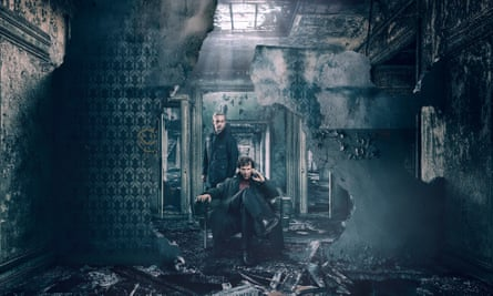 Sherlock and Watson decide to hurl themselves out the windows to get away from the grenade inside Baker Street. Serious injury, if not death, seems inevitable, yet nothing is made of it.