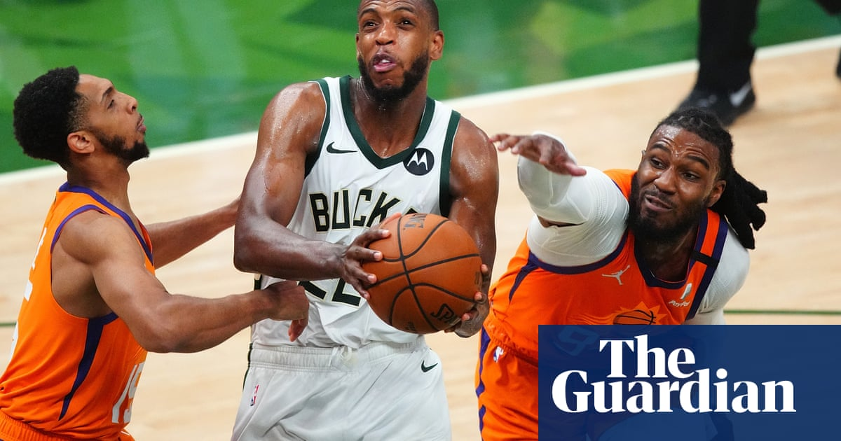 Dogged Bucks rally past Suns in Game 4 to level NBA finals at two games apiece