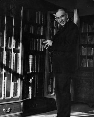 John Maynard Keynes, circa 1940.