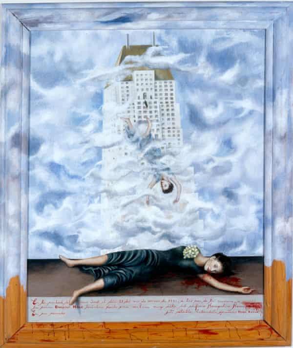 The Suicide of Dorothy Hale, by Frida Kahlo.