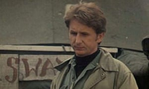 René Auberjonois as Father Mulcahy in the film of M*A*S*H, directed by Robert Altman. He turned down the offer to reprise his role in the TV series