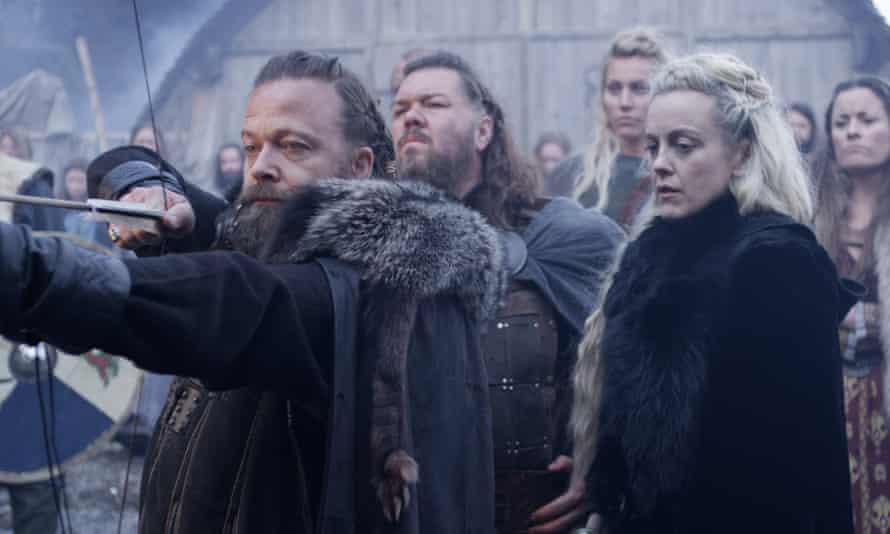 Viking epic … Kåre Conradi, left, in Norsemen.