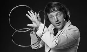 Paul Daniels in 1978, the year that he got a series of his own on ITV.