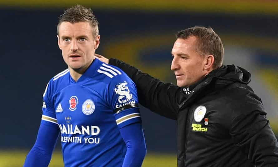 Jamie Vardy and Brendan Rodgers are ensuring Leicester have forced their way into the upper echelon of the Premier League.