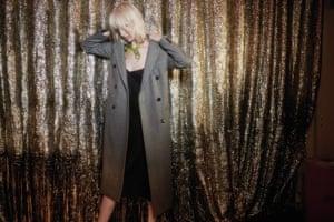 Herringbone coat by Alexa Chung for M&S.