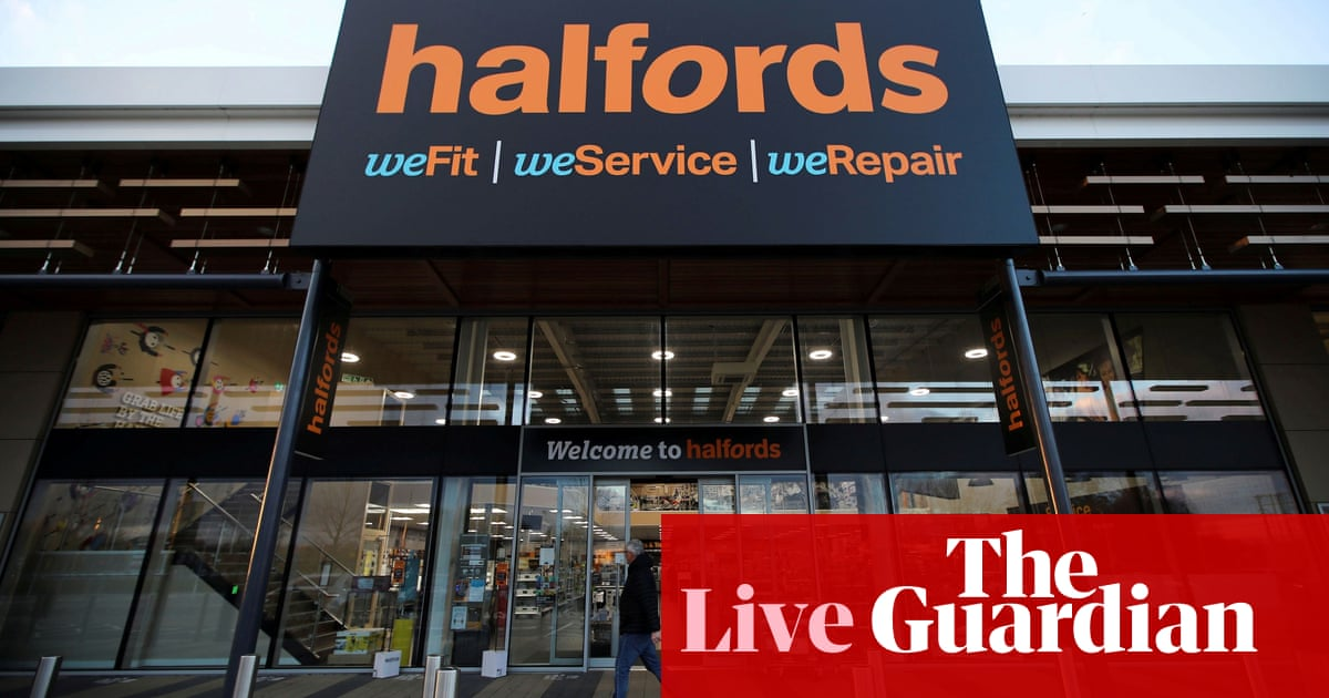 Halfords bike business suffers supply chain disruption; Delta variant fears hit markets – business live