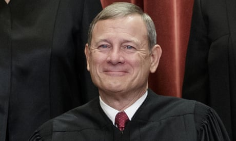 Americans 'take democracy for granted', supreme court chief warns