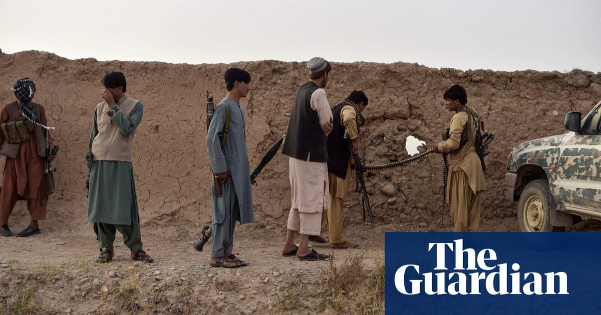 Taliban close in on Helmand capital as UK Afghan mission ends