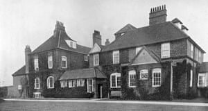 Gertrude Bell's home, Red Barns, in Redcar, in the 1920s.