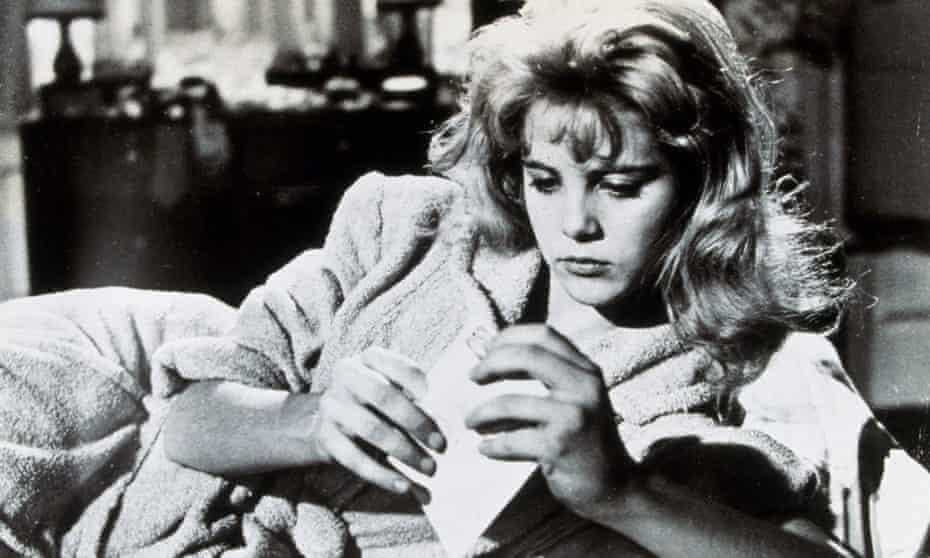 Sue Lyon in Lolita, released in 1962.