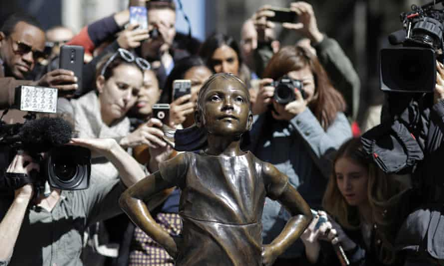 The Fearless Girl statue