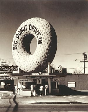 Big Donut Drive-In, 805 West Manchester Boulevard, Inglewood, ca. 1955