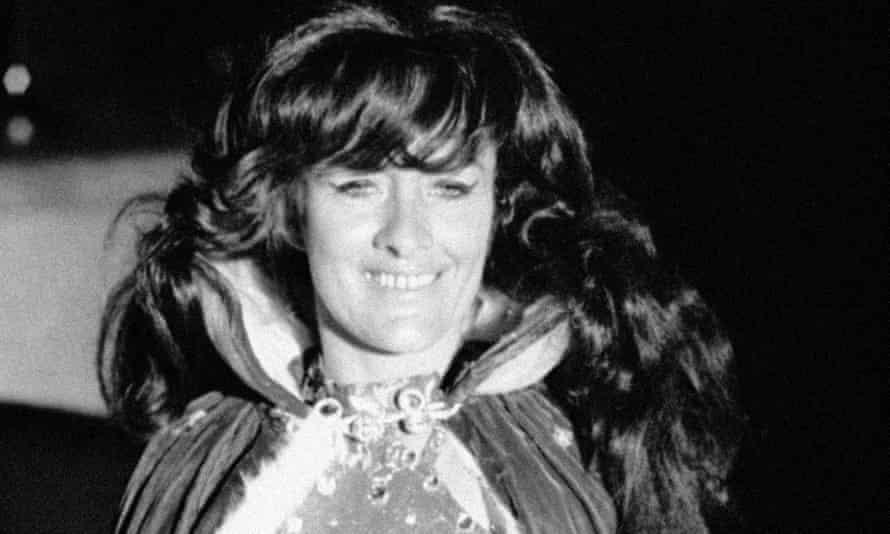 Carla Wallenda seen at a circus in Jacksonville, Florida in 1972.