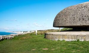 German second world war observation post near Fecamp.