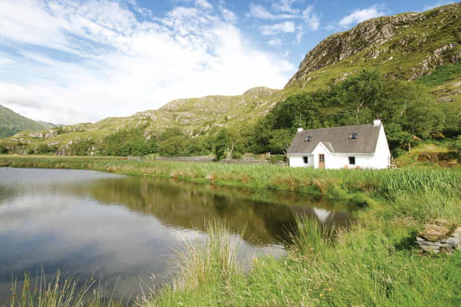 The old post house at Kylesmorar, Loch Nevis.