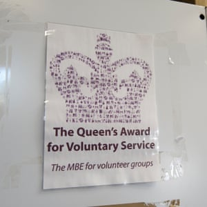 MBE certificate Oxford Foodbank