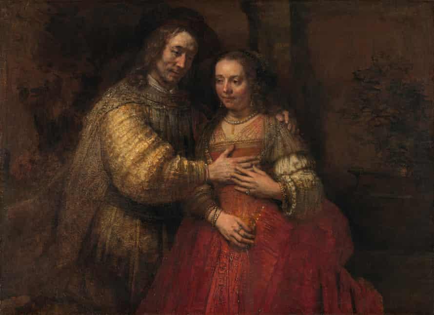 Raunchy red … The Jewish Bride, circa 1665.