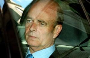 Sir John Scarlett, chairman of the joint intelligence committee.