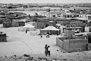 Boujdour refugee camp near Tindouf