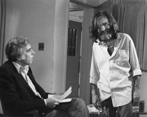 Manson has given a series of high-profile interviews while incarcerated, the first of which was in 1981 when interviewed by Tom Snyder for The Tomorrow Show