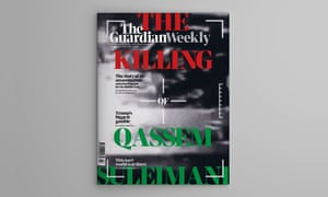 Guardian Weekly cover, 10 January 2020