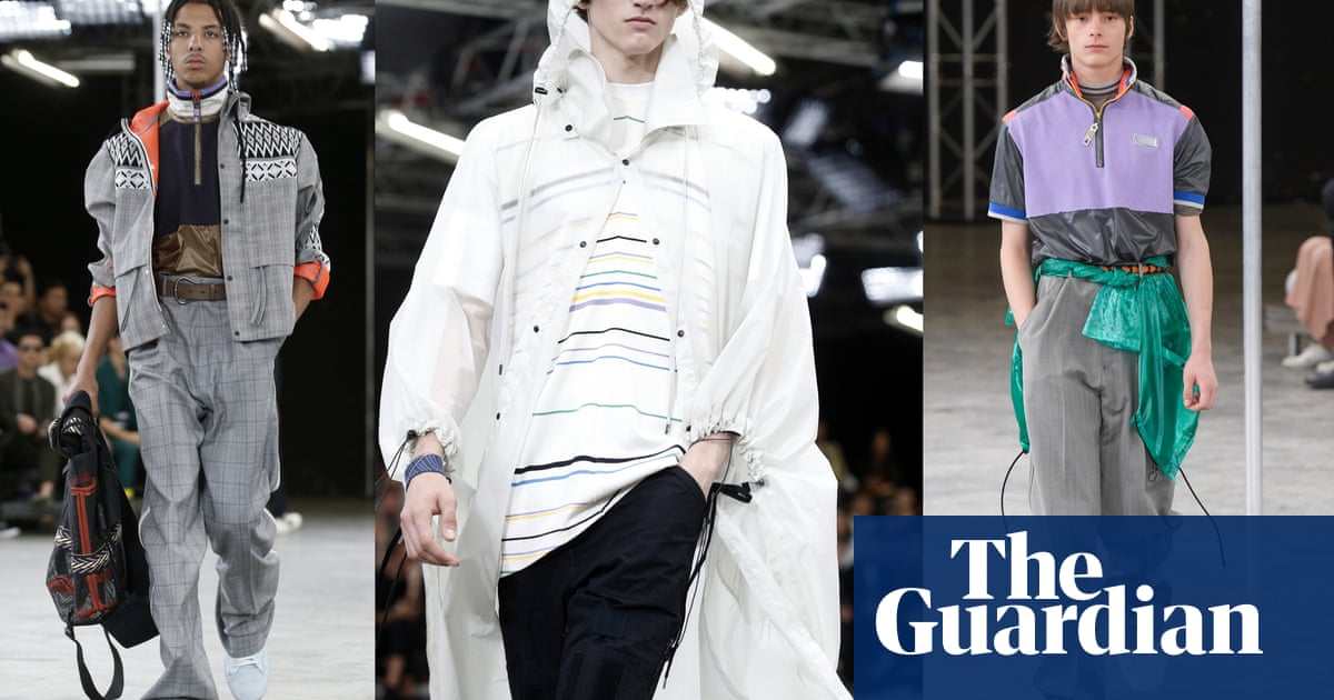 20b3bc76d188 Paris menswear  10 key collections from the spring summer shows – in  pictures