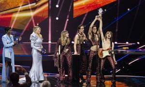 Italy win Eurovision!