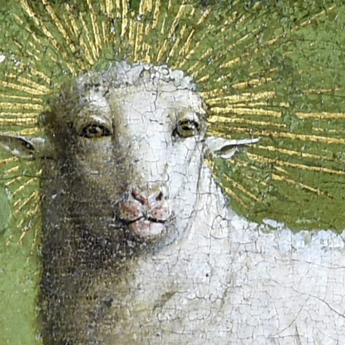 Why Laugh At The Humanoid Sheep In The Ghent Altarpiece It Is Majestic Art And Design The Guardian